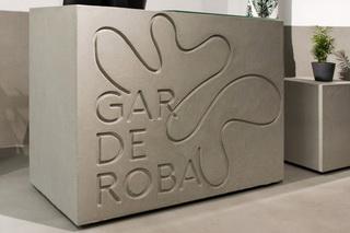 Uređenje butika Garderoba u Zagrebu | Gletani beton | TERRA SOL