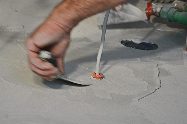 Dekorativni efekti i teksture, gletani beton TERRA SOL